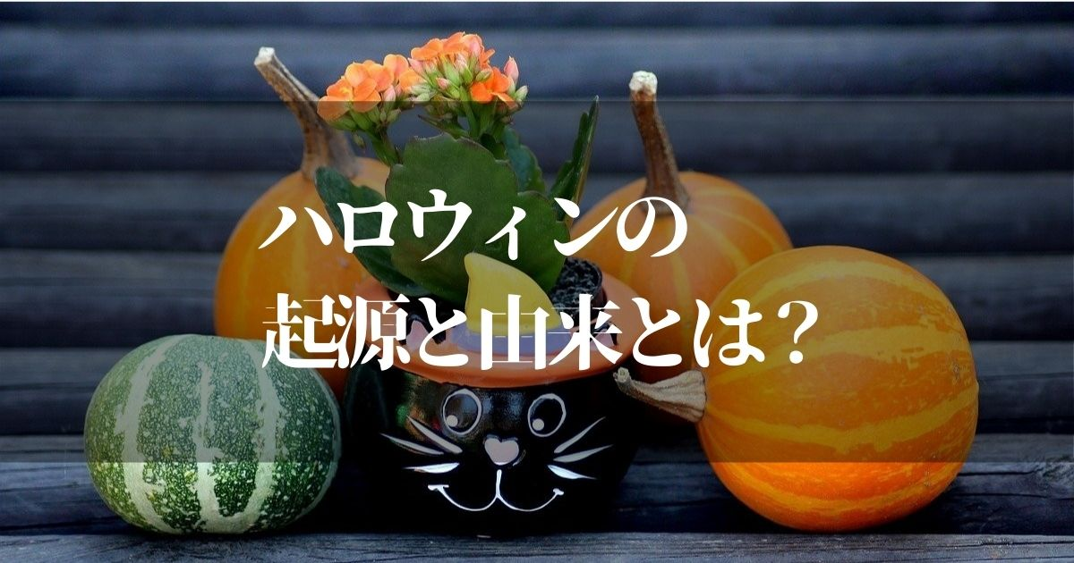 ハロウィンの起源と由来って!?【子供に聞かれても良いように知っておく】