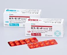 ロスーゼット配合錠MSD箱