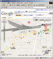 [Web][Google][Map][地図][保谷][200]縮尺100mの保谷駅周辺のGoogleMap画像です。