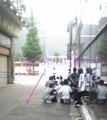 [デジカメ][ソフマップ][sofmap][タユタマ][萌木原ふみたけ][サイン]待機列最後尾のAM5:00状況。