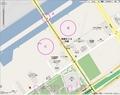 [Web][google][地図]テニスの森周辺。