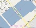 [Web][google][地図]勝鬨橋の先にある、名もない?橋周辺。