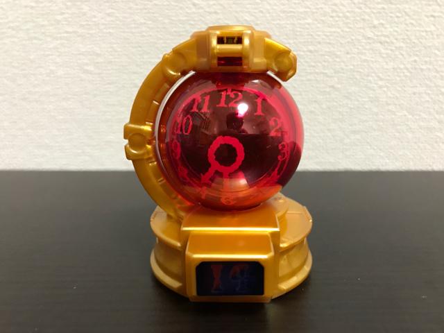 トケイキュータマの赤の時計