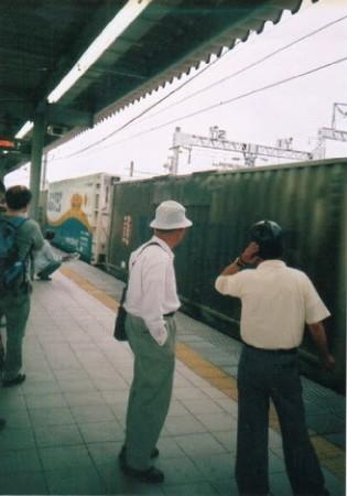 東静岡駅・貨物