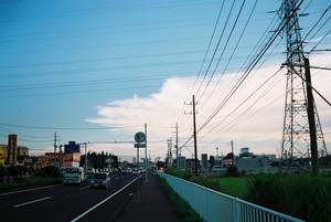 幹線道路夕景1