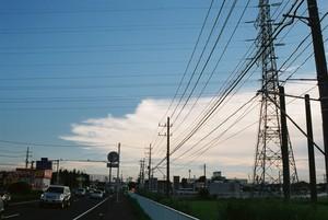 幹線道路夕景2