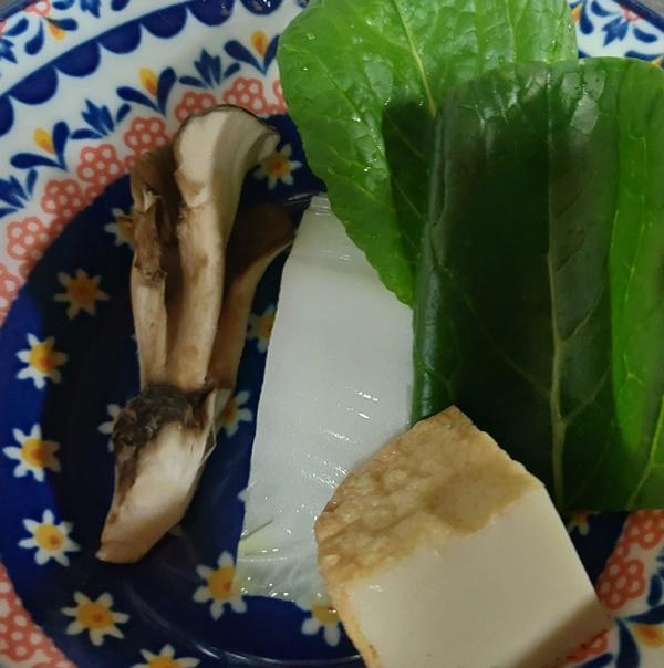 手作りご飯の野菜