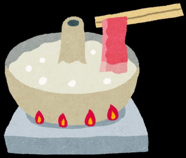 しゃぶしゃぶ鍋