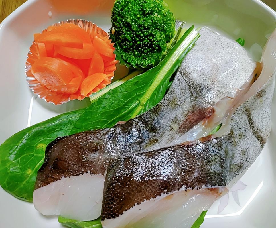 焼き真ダラの野菜煮込みおじやの材料