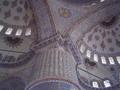 ブルーモスク。びっしりと描かれています。