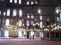 ブルーモスク内部。