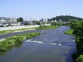 広瀬川~!