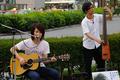 [Street live][【♪】奥野智史][【♪】080722@錦糸町][TAMRON SP AF28-75mm F2.8][人物]