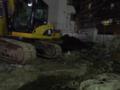 [試し撮り][【sce】夜景]FujiFilm FinePix F200EXR にて撮影|手持ちで鉄柵を使って固定し、露光時間