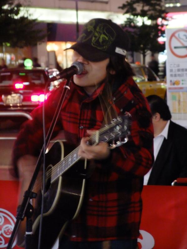 [Street live][【♪】同心円][【♪】090308@錦糸町]