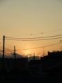 [街撮り][夕景][空撮り]