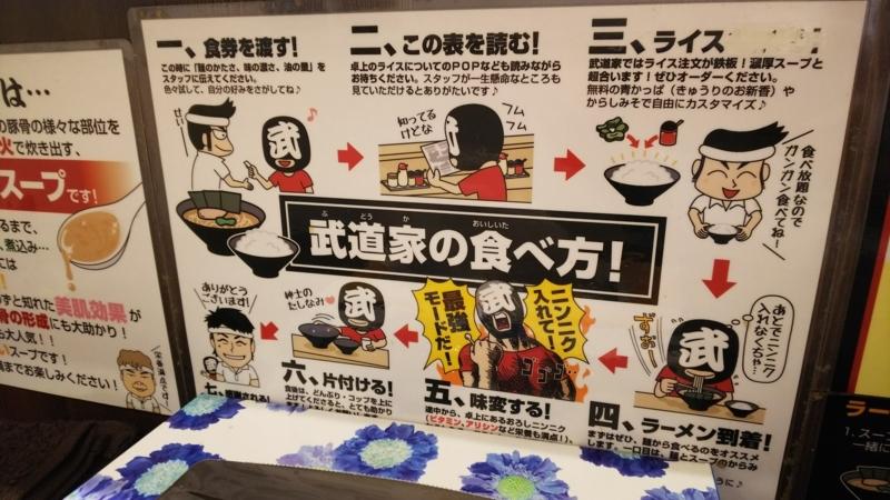 武道家のラーメンの食べ方