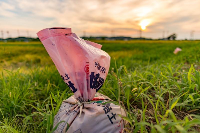 田舎によくある袋