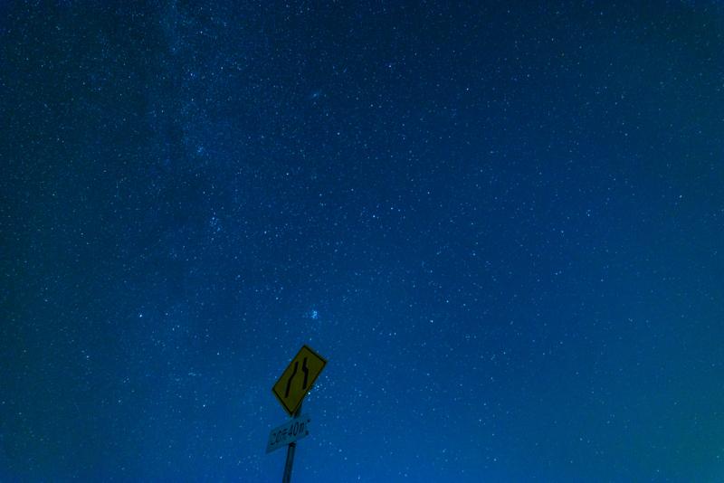 一眼レフで撮った星空