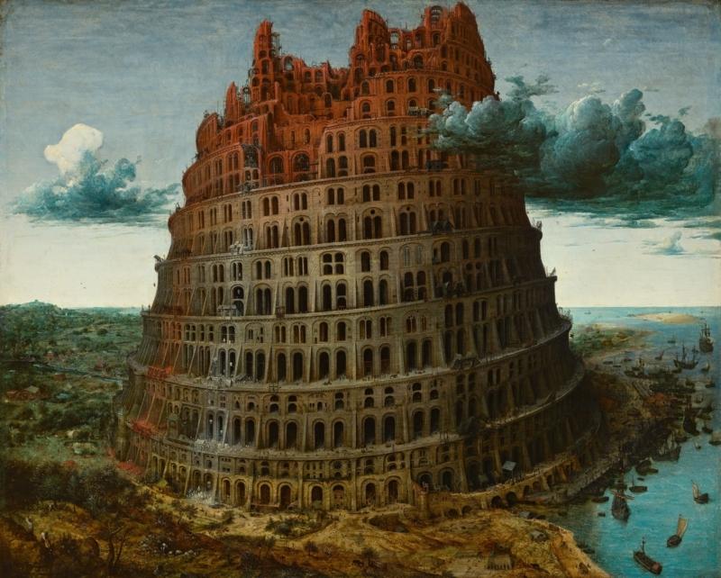 ラピュタとバベルの塔