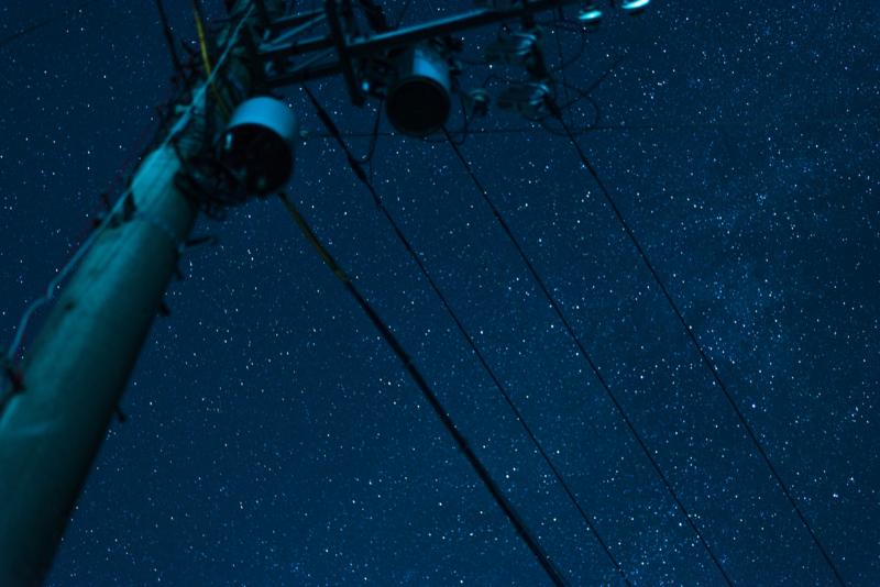 星空も撮れる