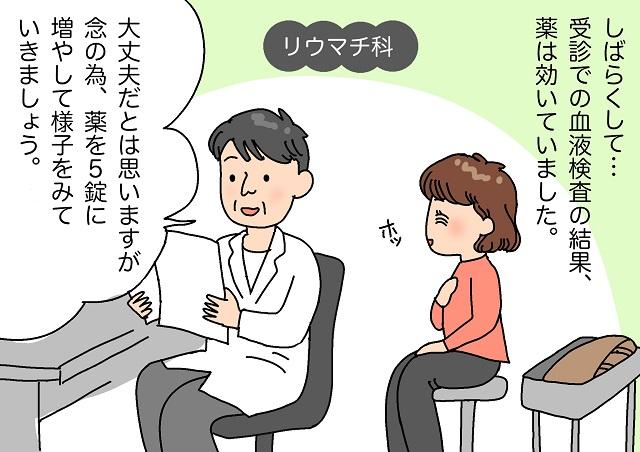 関節リウマチの服薬での治療