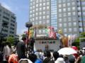 東北六魂祭開会式始まった。