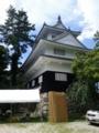 吉田城なう。夜に能をやるみたいで、矢倉が出演者控え室になってた
