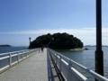 竹島(愛知)なう。小さくてまわりやすい島