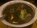 アキバの汐屋で黒胡麻担々麺なう