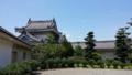 和歌山城なうー。あぢぃ