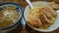 お昼は中央通りの麺屋ばんどう。