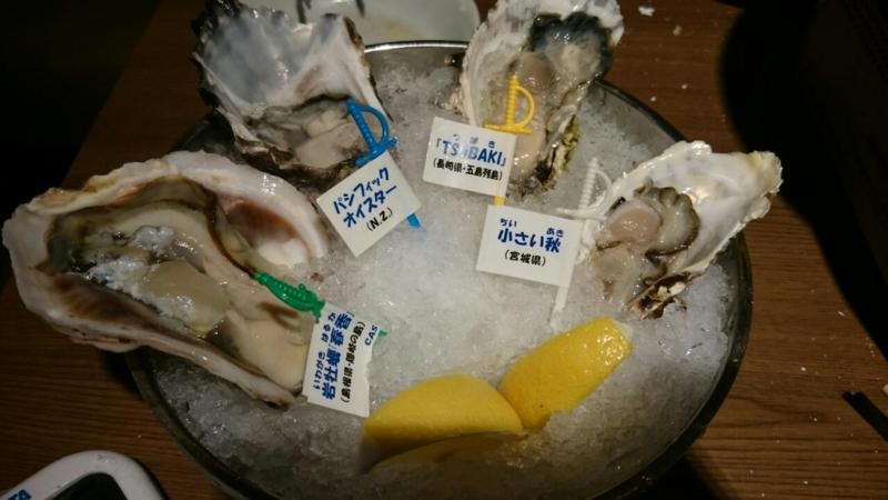 生牡蠣はやっぱ大粒なのがうまい