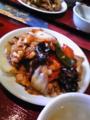 鶏ときくらげの黒胡椒炒め