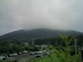 景色はいいけど、天気は今ひとつ