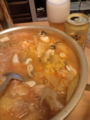キムチ鍋(鶏肉)