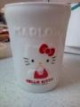 マーロウのキティちゃんカップ
