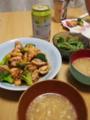 ブロッコリーと鶏肉のオイスターソース炒め