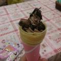 めちゃのせチョコクレープ