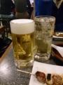 生ビール&ホッピー