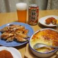 ビールが3本しかない夕食
