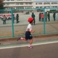 マラソン大会、がんばりました