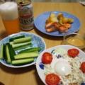 つまみっぽい夕食