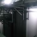 新製品の日本酒と焼酎のタンク