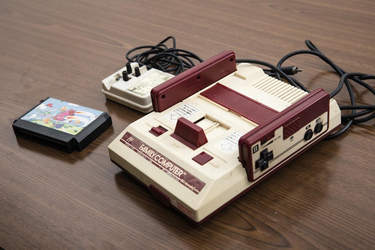 懐かしのゲーム機