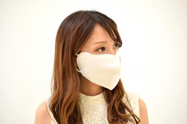 マスクの日焼けを予防する