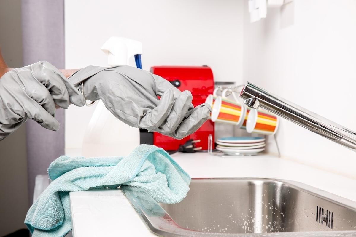 シンクの掃除頻度