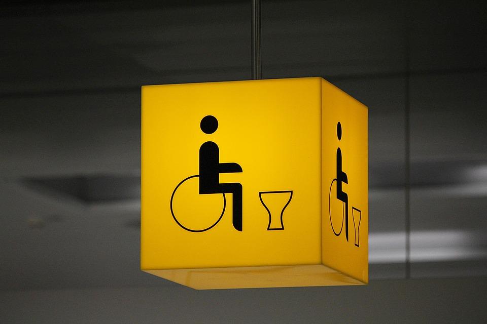 世界の多目的トイレ