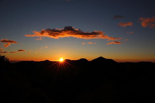 新たな日の出