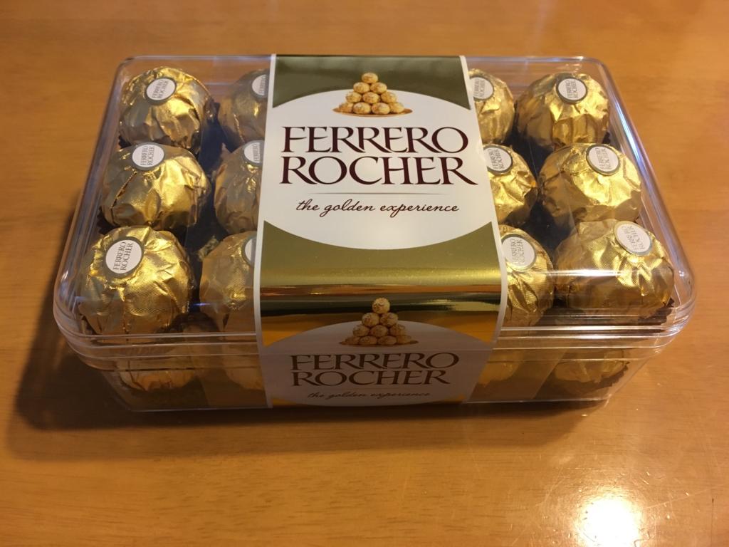 フェレロロシェの箱画像